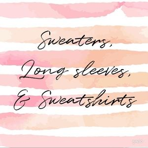 Sweaters - Sweaters, Long sleeves, & Sweatshirts